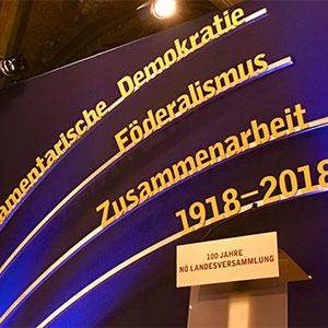 100 Jahre Provisorische Landesversammlung