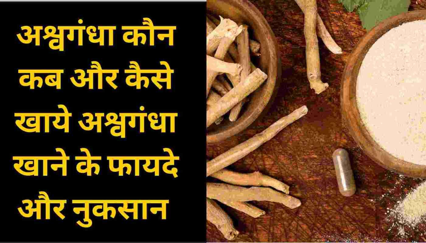 Ashwagandha Who When and How to Eat Ashwagandha Benefits and Disadvantages