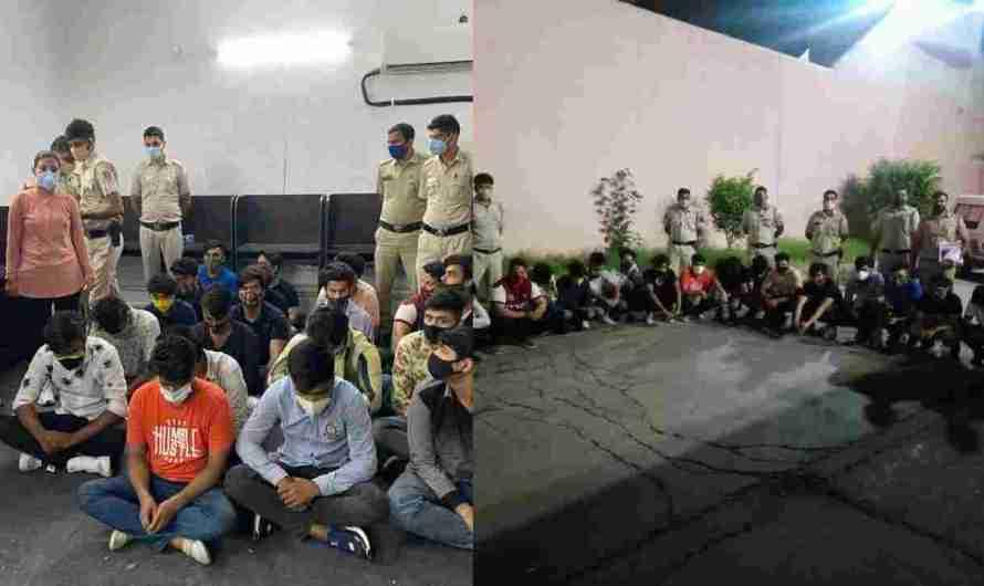 दिल्ली पुलिस ने अवैध कॉल सेंटर पर छापा मारा 21 लोग पकडे