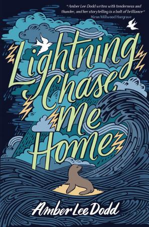 Lightning Chase Me Home by Amber  Lee Dodd