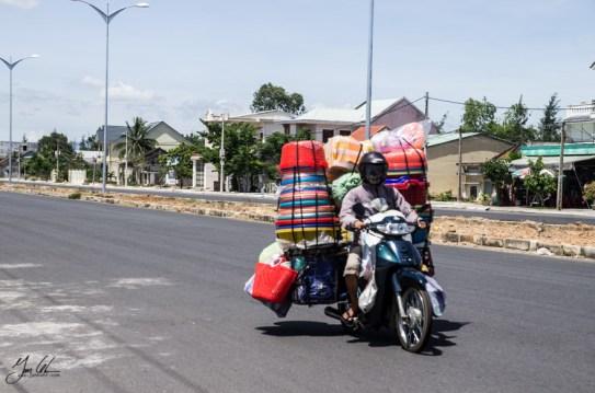 street stall on motorbike