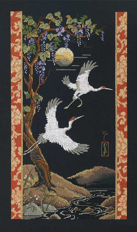 Cranes - Janlynn kit