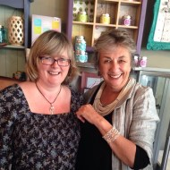 Annie Sloan chose to buy one of my Janmary Designs cuff bracelets in Lisburn today #anniesloan