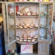 Lots of new vintage-style Janmary Designs jewellery delivered to Little French Barn in Lisburn #shoplocal