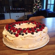 Pavlova for Snass Ball tonight – mum would be proud!