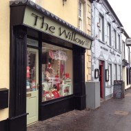 Delivering new Janmary Designs jewellery to The Willow gift shop in Moira – perfect for Valentines and Mothers Day