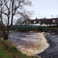 River Bush in full flow in Bushmills