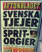 Bildresultat för aftonbladet löpsedlar