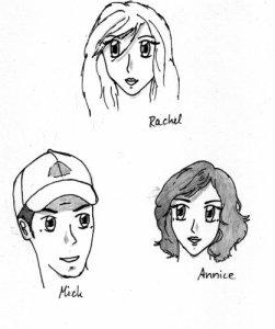Rachels Familie: Mick und Annice Hadden