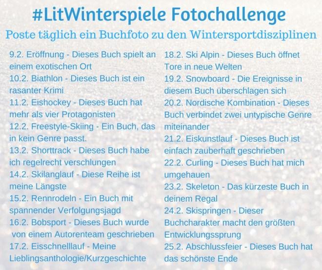 Literarischen Winterspiele Fotochallenge