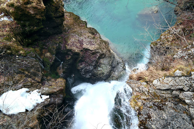 Vintgar Gorge Slovenië