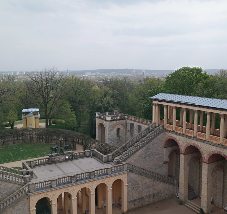 Potsdam Aussicht Belvedere Pfingstberg