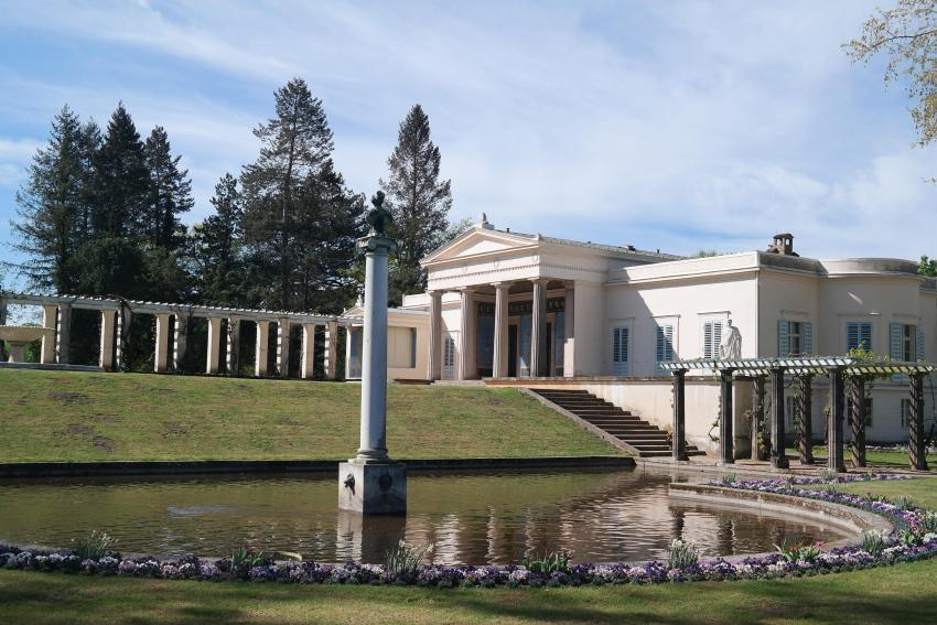 Schloss Charlottenhof in Park Sanssouci