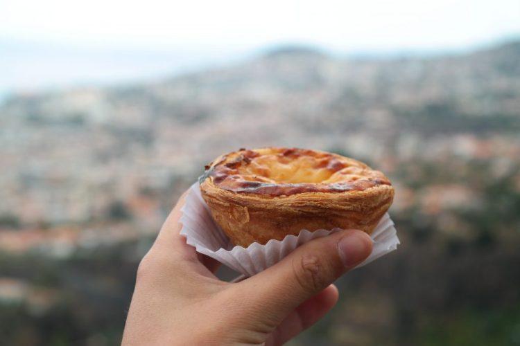 Pastel de nata Madeira