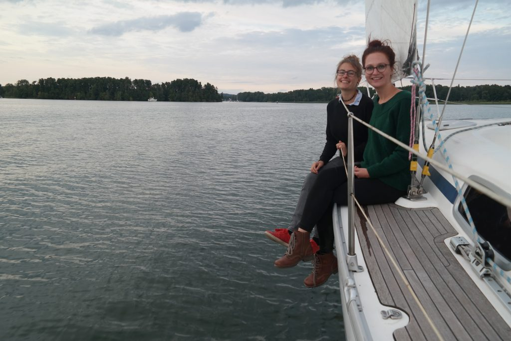 Sunset sailing Scharmützelsee