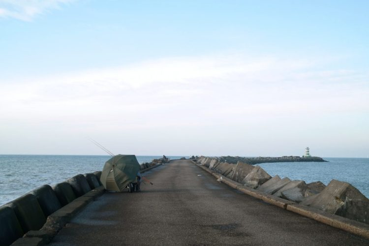 IJmuiden pier wandelen
