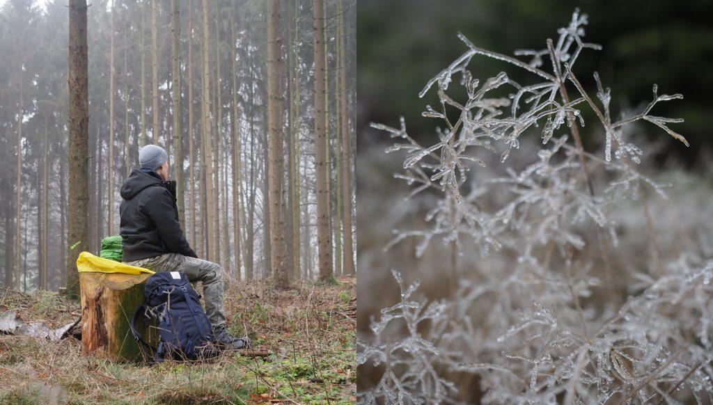 Wandelen Osnabrücker Land winter