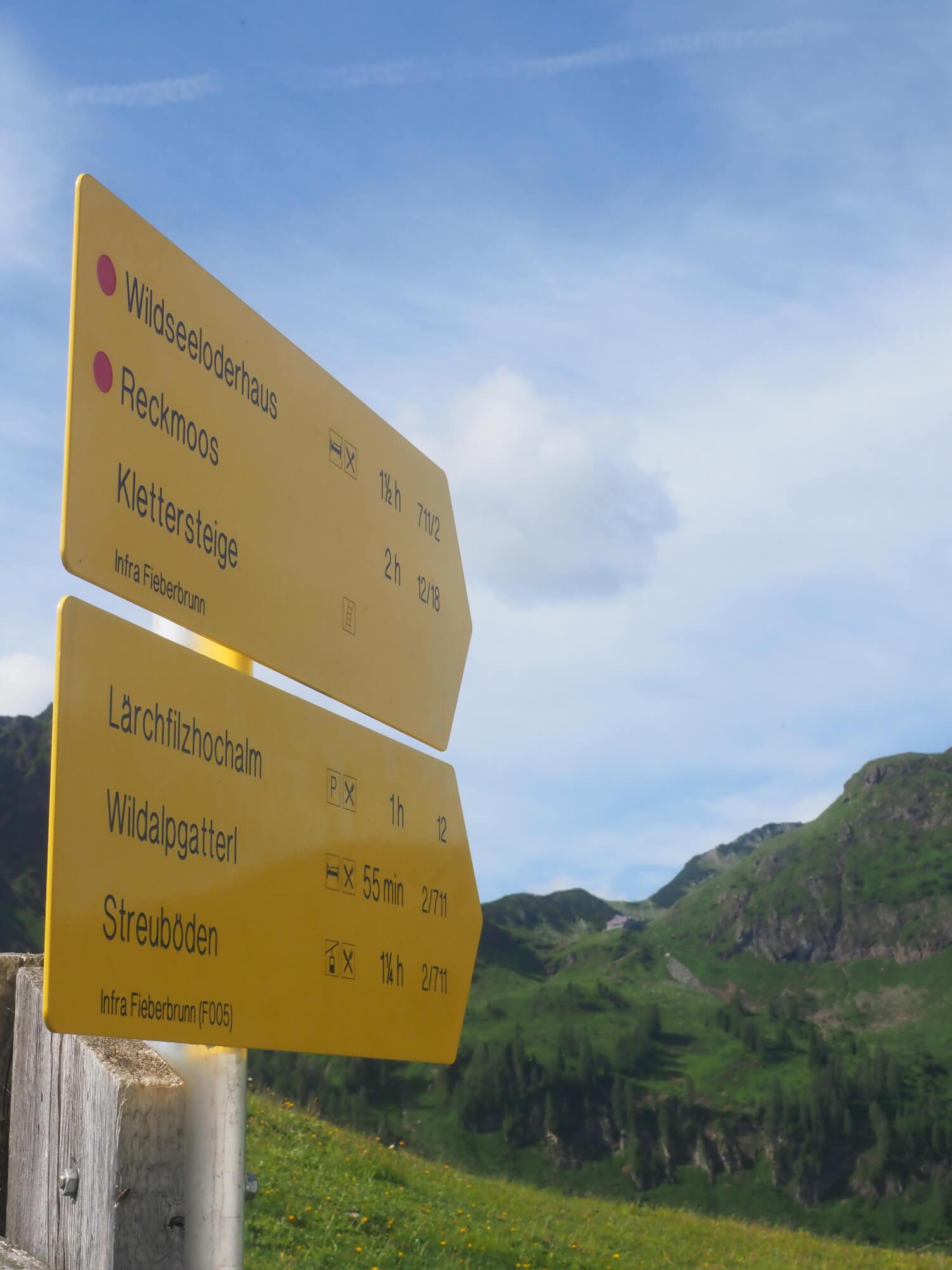 Wandeling Fieberbrunn Wildsee