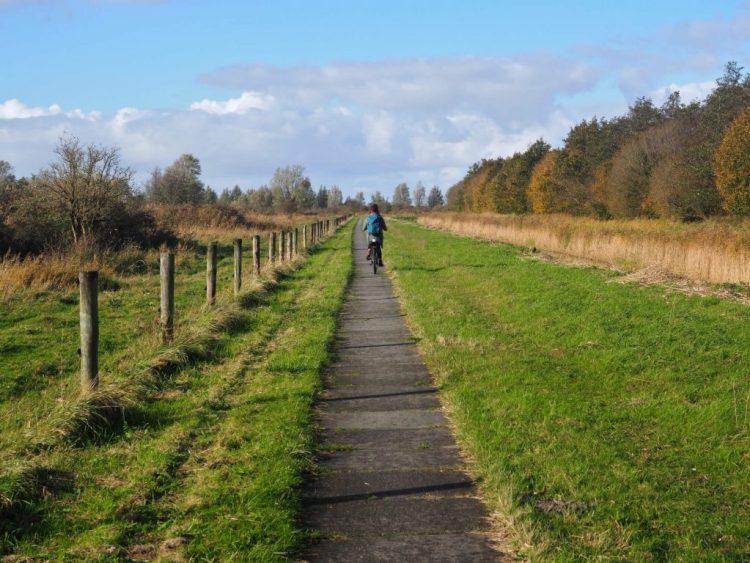 Radfahren Nationaal Park Lauwersmeer