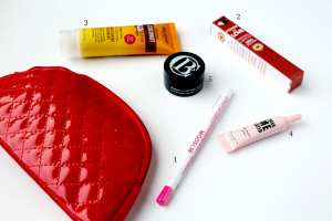 List Items December 2015 Ipsy Glam Bag Review - Happy Stylish Fit Lifestyle Fashion Beauty Fitness Blog