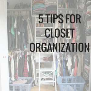 Rediscover your old favourites and find new cute ways to pair things together by clearing out the clutter and organizing your closet.