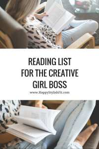 Need some inspiration for your next book? Check out this list of 9 great books for the creative girl boss reading list.