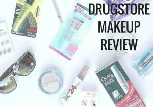 Drugstore makeup review: Rimmel, Cover Girl, Olay, Quo, Maybelline, and more.