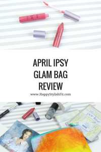 Click to see what's in this months Ipsy Glam Bag Review. Packed with great brands and great products like beauty brushes, nail polish, highlighter, and sheet masks.