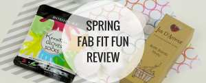 Spring Fab Fit Fun Review - Happy Stylish Fit - Banner