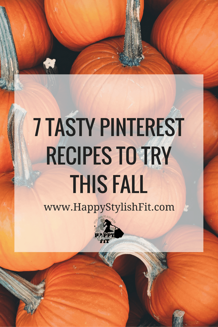 7 Tasty Pinterest pumpkin recipes to try this fall. Pin now, try later.
