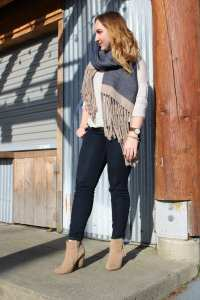 5 styling tips to instantly elevate your jeans and tshirt outfit so you look fab while on the go.