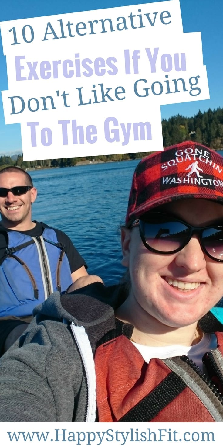 If you don't like going to the gym try out one of these 10 alternative exercises. Get outside, try a new class, or splash around, either way, find something that works for you and gets your body moving.
