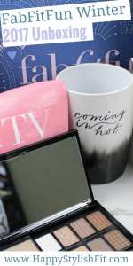 Check out this FabFitFun winter 2017 unboxing and first impressions.