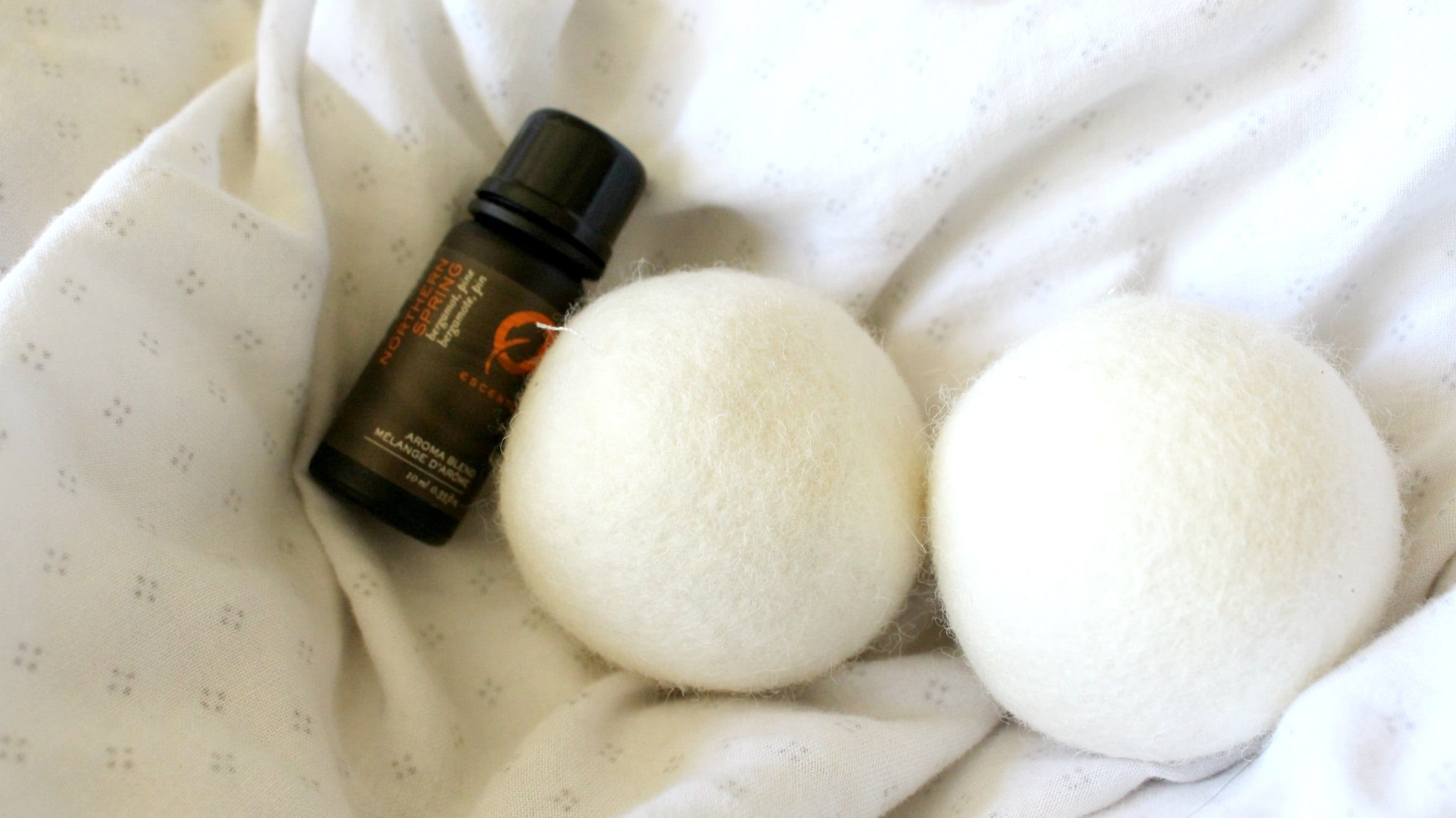 Wool dryer balls are a chemical free alternative for your laundry.
