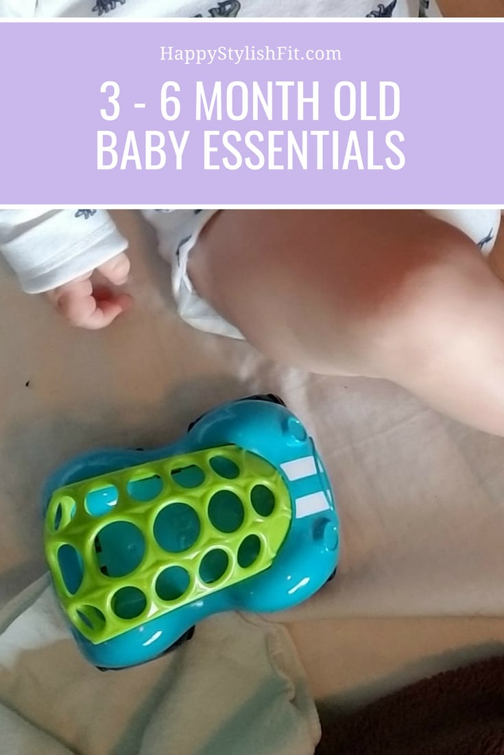 The complete list of 3 - 6 month old baby essentials.