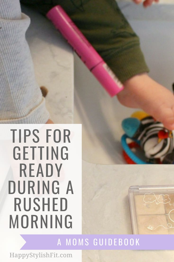Tips for a quick morning routine for moms who feel rushed in the morning. Take the time for this mom self care and do some quick makeup to perk you up for the day. You deserve it mama! #MomSelfCare #SelfCare #MorningRoutine #BeautyRoutine #MomRoutine #Motherhood #mama