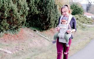Find out why this is the best baby carrier with this in depth Ergo Omni 360 Review. #BabyWearing #BabyCarrier #Ergo #StructuredCarrier