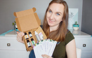 March Simply Earth unboxing of this great essential oil subscription box.