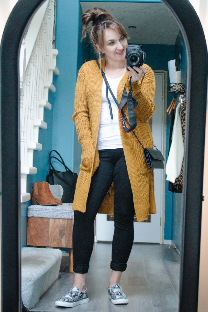 Outfit 3 - Casual on the go. 8 Fall outfits from 12 pieces.