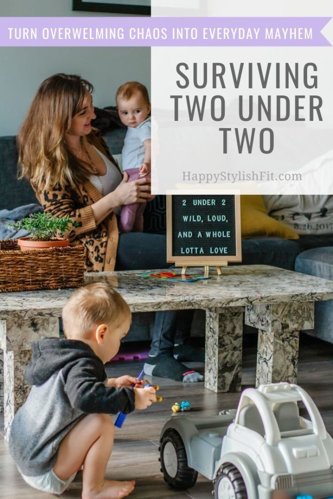 Surviving two under two, 6 tips to help you navigate your new life with a toddler and newborn.
