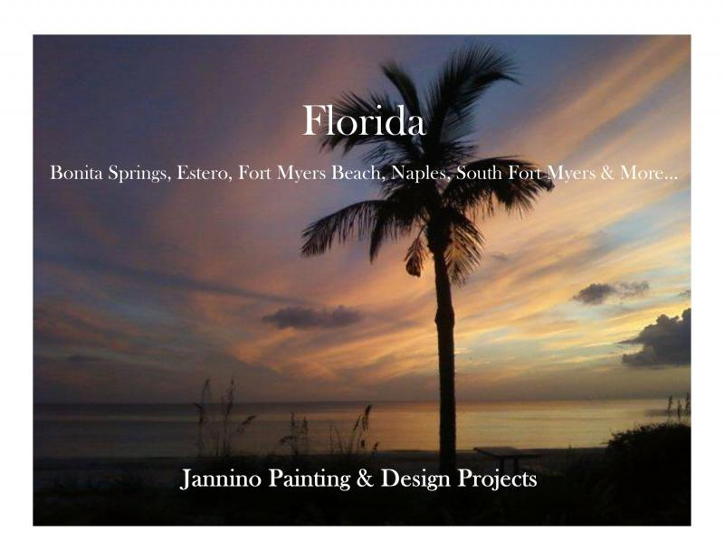 Jannino Painting Design Interior Residential Painting Project Fiddlers Creek Naples Florida