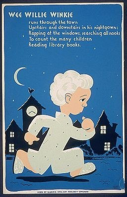 From http://commons.wikimedia.org/wiki/File%3AWee_Willie_Winkie_1940_poster.jpg
