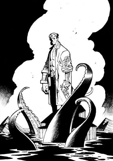 Commission Hellboy