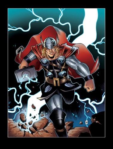 Thor Inspiré par le Design d'Olivier Coipel