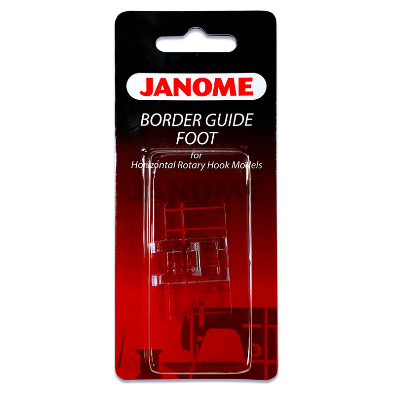 Janome Border Guide Foot For Top Loading Sewing Machines