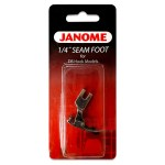 Janome Quarter Inch Seam Foot for DB Hook Models