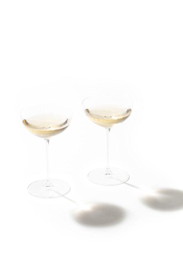 JAN | Jan Hendrik van der Westhuizen | JAN Riedel Champagne Coupe / Cocktail Glasses