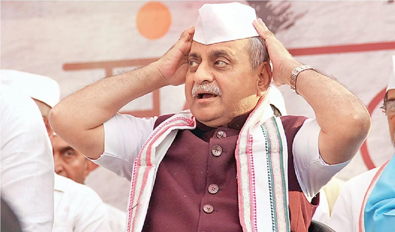 નીતિન પટેલ, ધમણ, રાજ્યસભા ચૂંટણી, ગુજરાત કોંગ્રેસ, gujarat congress