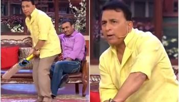 Sunil Gavaskar Javed Miandad Ind vs Pak Kapil Sharma Show