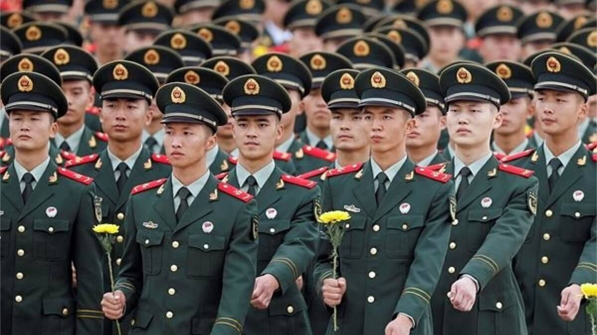 China deployed Pakistani officers in army to deal with India and given responsibility to LAC